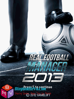 Real Football Manager 2013 full màn hình