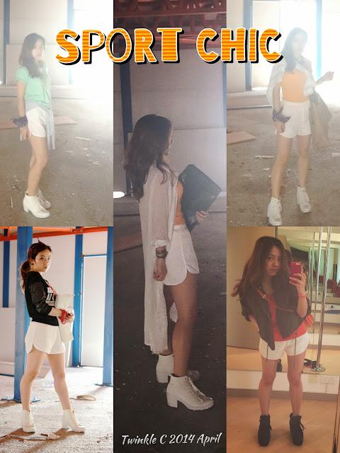 [F for fashion] Sport Chic 時尚運動褲 5個穿搭法 Itrial x Stylenanda