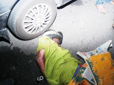Remaja maut digilis kereta