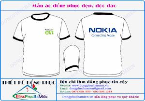 Đồng phục bán hàng Nokia