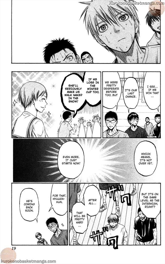 Kuroko no Basket Manga Chapter 53 - Image 0/019