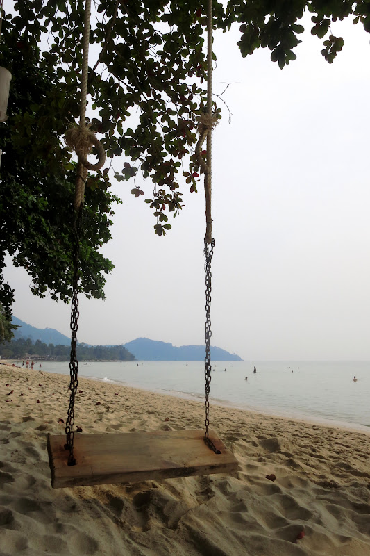 Lonely Beach swing