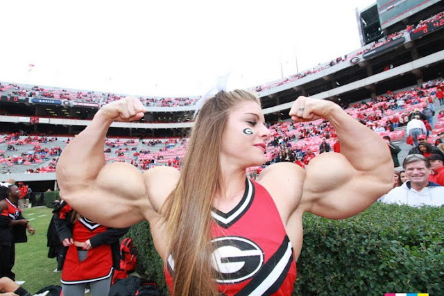 anna watson muscle cheerleader