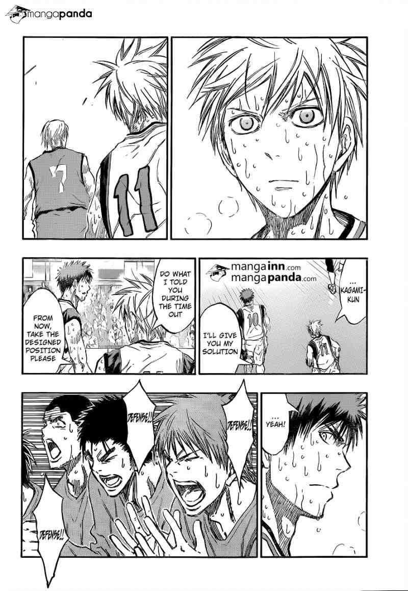 Kuroko no Basket Manga Chapter 200 - Image 18