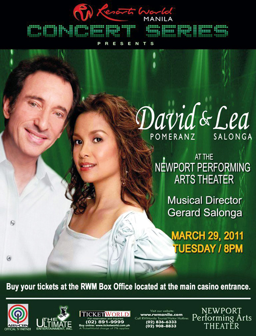 DAVID & LEA Live at Resort World Manila