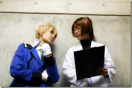 gundam 00 cosplay - graham aker and billy katagiri