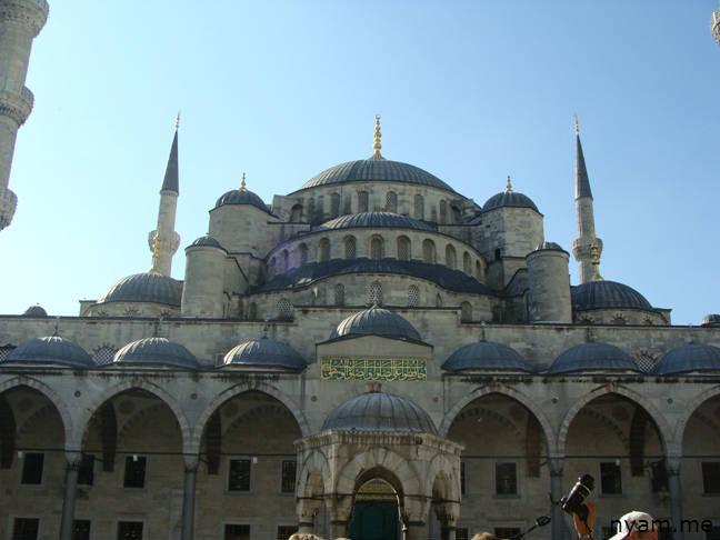 голубая мечеть в стамбуле (4)
