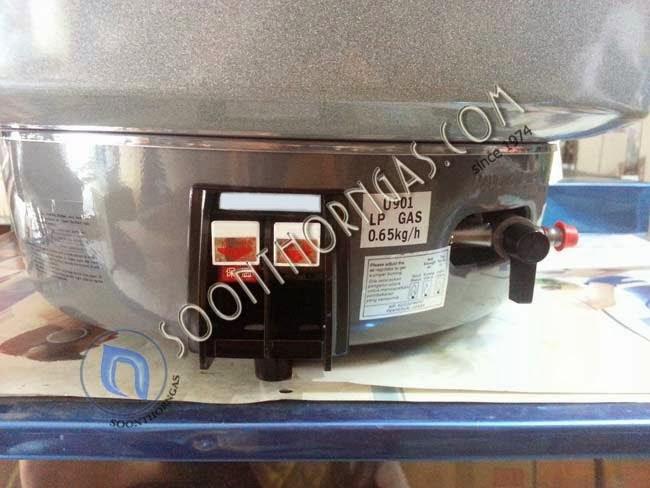 ปุ่มควบคุม หม้อหุงข้าวแก๊ส