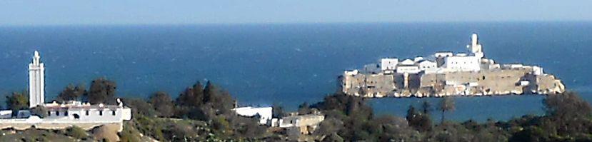 Spanische Mini-Insel vor der marokkanischen Küste: Peñón de Alhucemas