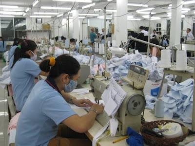 Đơn hàng may áo sơ mi, áo phông cần 36 nữ thực tập sinh làm việc tại Yamagata Nhật Bản tháng 06/2016