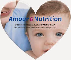 amour et nutrition enquête laboratoire Gallia