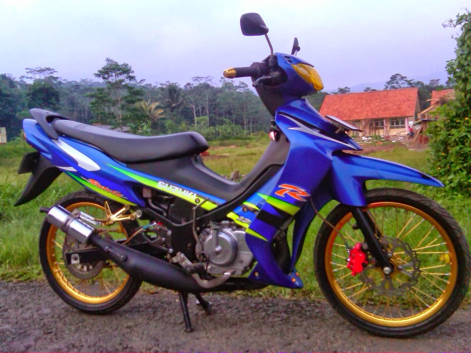 Modifikasi Motor Suzuki Satria Hiu Wacana Modif Motor