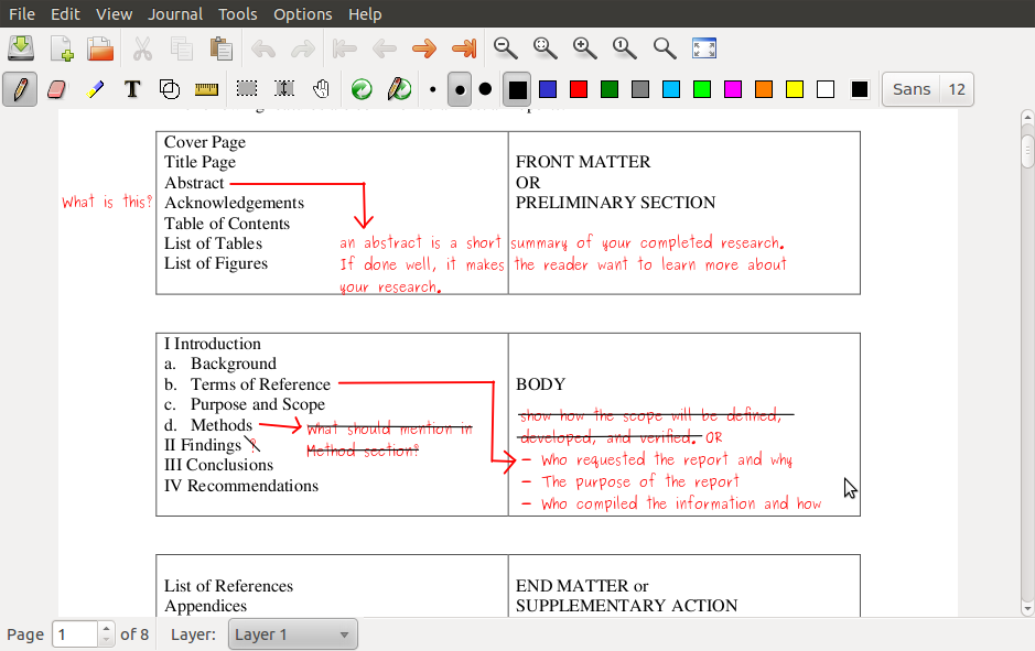 How to edit pdf files in your linux top open lab text from your comments all is consider as image in your pdf file so its better to keep your xournal file too if you what edit your comments later ccuart Image collections
