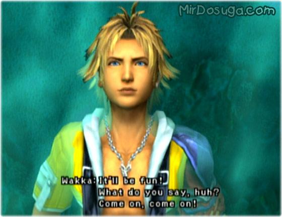 Tidus из final fantasy x для PS2