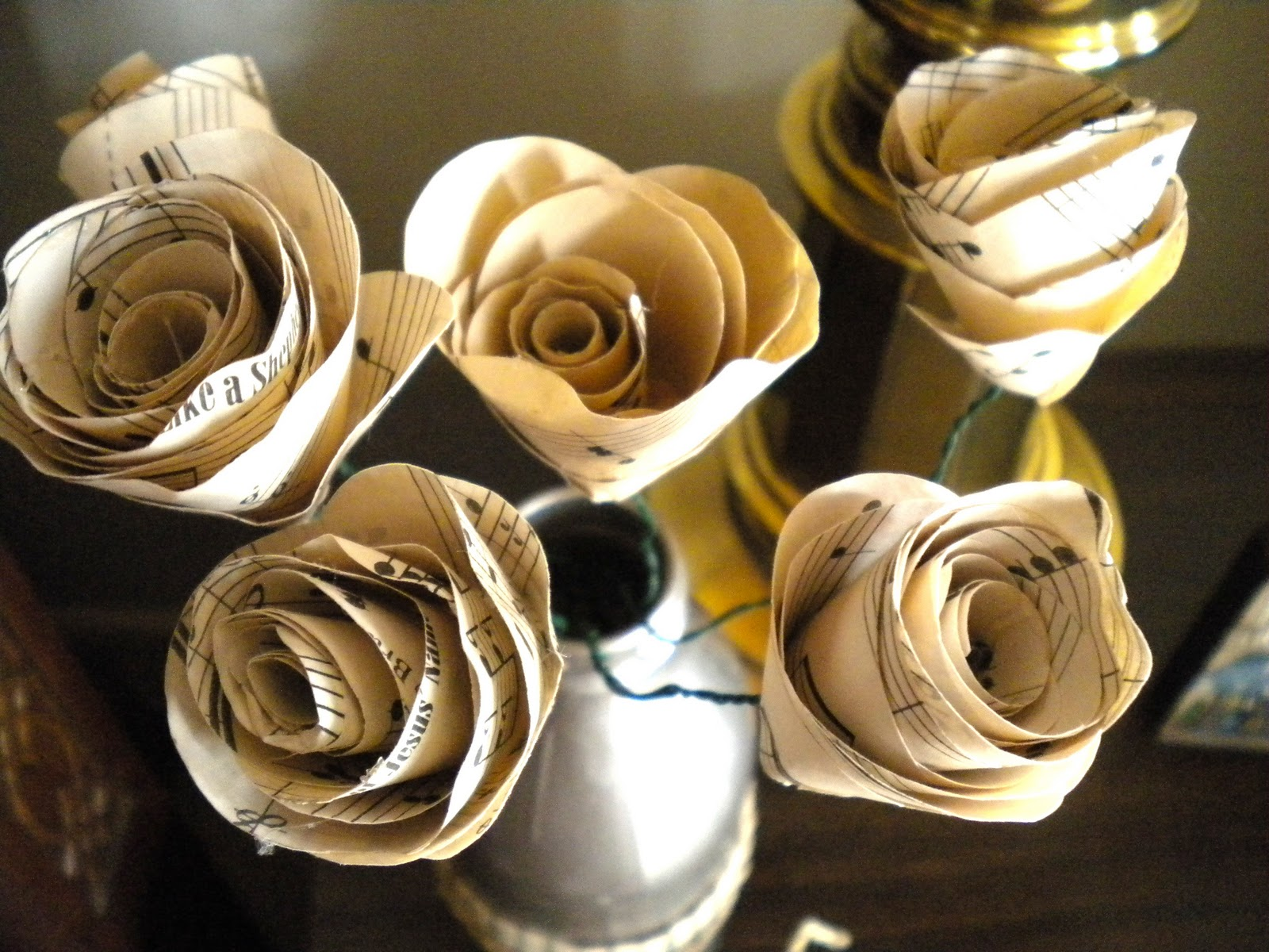 Sheet Music Roses Tutorial My Girlish Whims