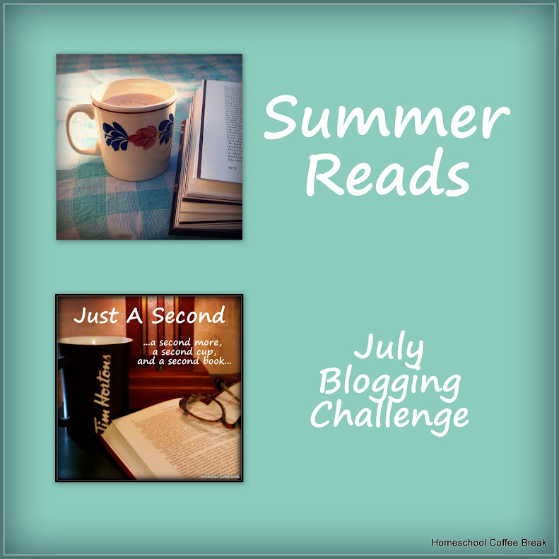 Summer Reads on Homeschool Coffee Break @ kympossibleblog.blogspot.com #bloggingthroughJuly #summerchallenge