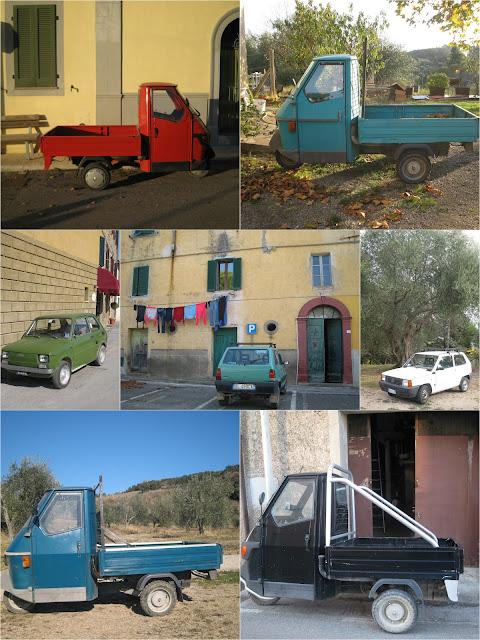 Italian utility cars - Ape, Panda & co.