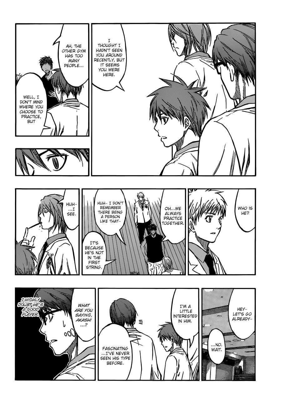 Kuroko no Basket Manga Chapter 205 - Image 18