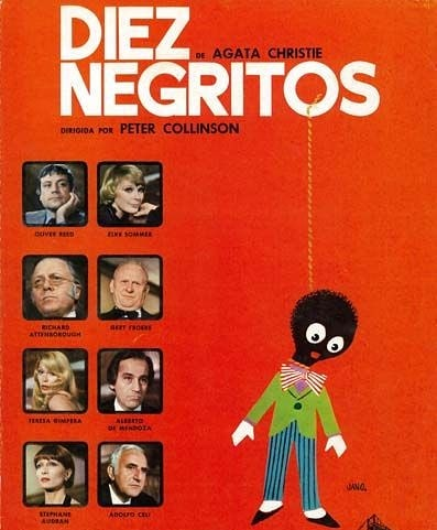 Diez negritos (1974, Peter Collinson)