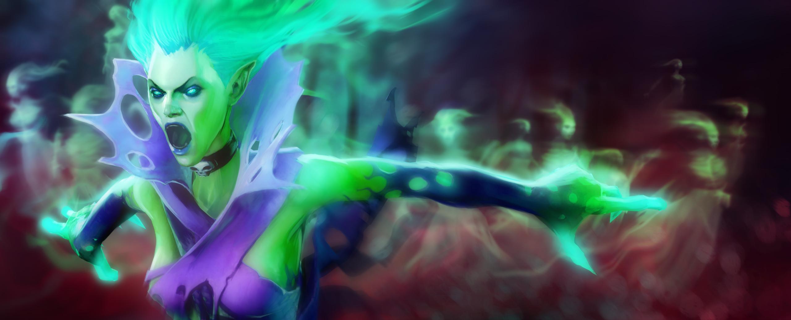 Loạt ảnh nguyên họa của các hero trong DotA 2 - Ảnh 7