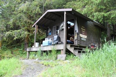 Karta Lake Cabin Alaska