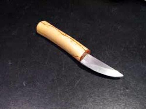 Cuchillo De Mango Blanco