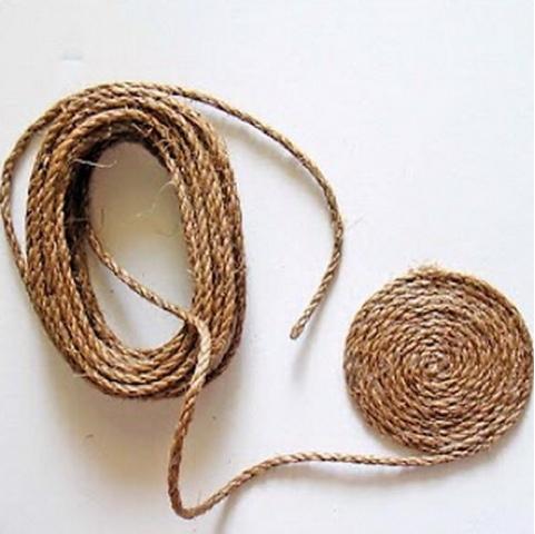 1x1 diy una alfombra de cuerda - Alfombras de cuerda ...