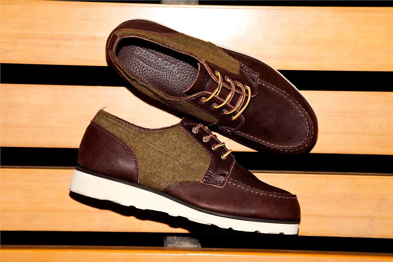 *SEBAGOxWoolrich®:Stockton 皮革百年羊毛混搭紳士鞋履! 7