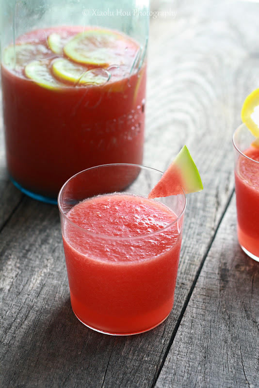 Watermelon Lemon Vodka Cooler