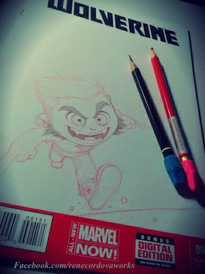 Wolverine lápiz