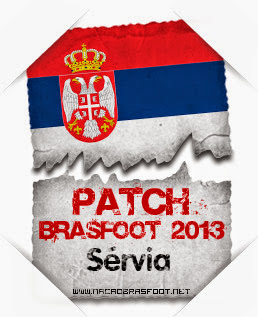 Patch Sérvia Brasfoot 2013