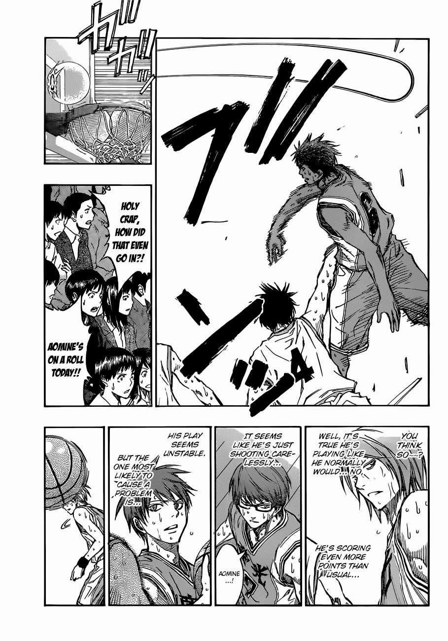 Kuroko no Basket Manga Chapter 215 - Image 15