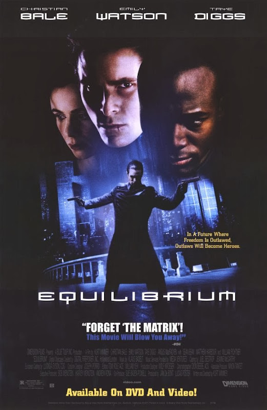 Poster Of Equilibrium (2002) Full Movie Hindi Dubbed Free Download Watch Online At Alldownloads4u.Com