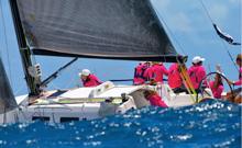J/109 sailing Les Voile St Barths regatta