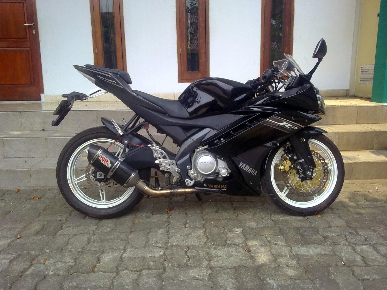 Modif Yamaha Vixion Jadi R15