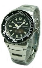 Jam Tangan Pria Tali Rantai Seiko Kinetic World Time : SUN067P1
