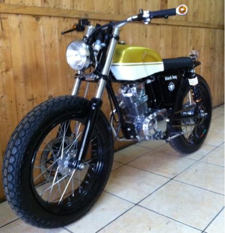 Honda CB 100 Custom Galerimotor