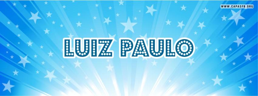 Capas para Facebook Luiz Paulo