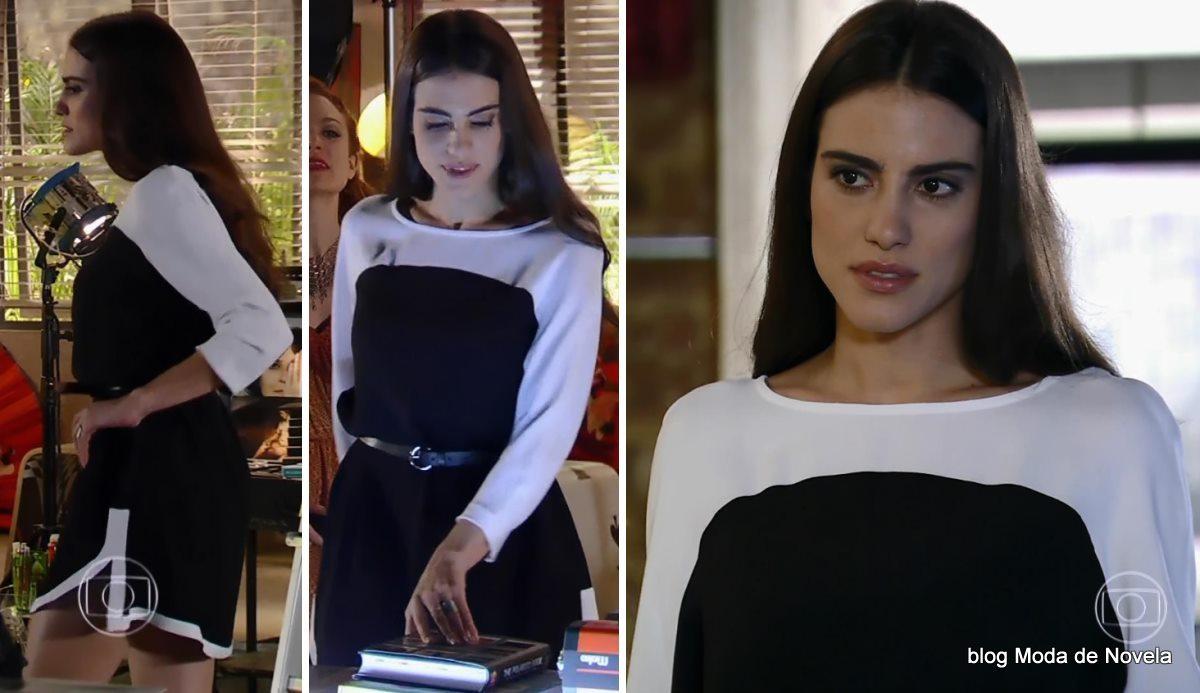 moda da novela Em Família - look da Flavinha dia 12 de maio