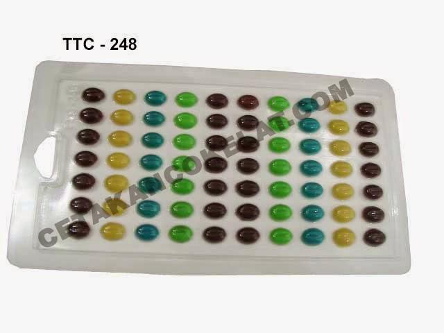 Cetakan Coklat TTC248 Kopi