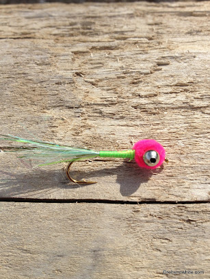 Shad puff fly custom