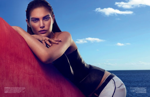 Sports Sleek - Catherine Mcneil Covers Vogue Turkey