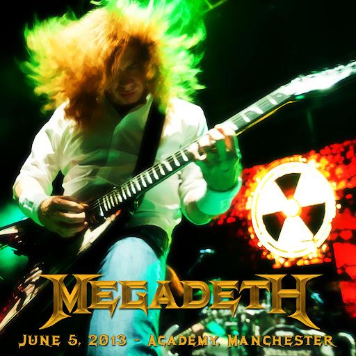 Megadeth - 2013-06-05 - Manchester - Guitars101 - Guitar Forums