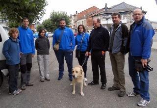 Miembros de Gemosclera con sus colaboradores y amigos