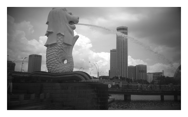 Merlion - the icon of Singapore