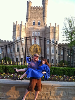graduation, eiu, eastern illinois university, castle, old main, love