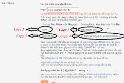 Hướng dẫn trỏ tên miền miễn phí .TK cho blogspot blogger thành công 100%