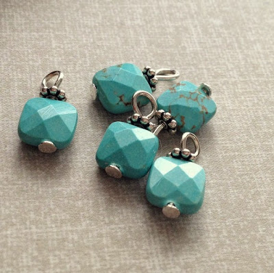 Turquoise Charms by All Things Beaded