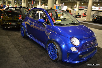 US Fiat 500 wide body kit from 500 Madness