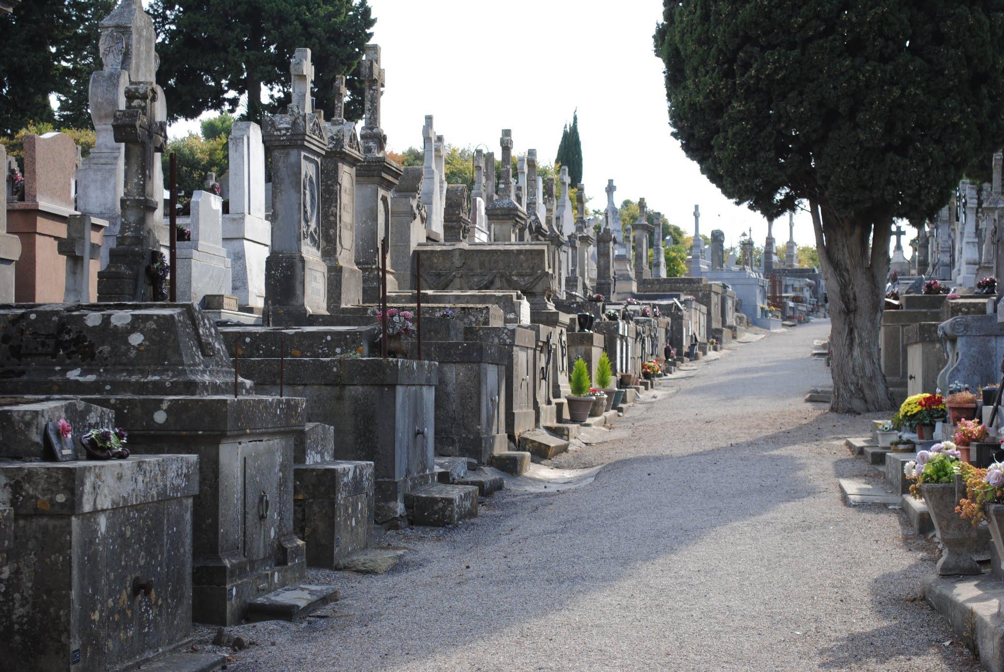 My Photos: France -- Carcassonne -- The Cemetery